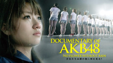 DOCUMENTARY OF AKB48 NO FLOWER WITHOUT RAIN 少女たちは涙の後に何を見る? のサムネイル画像