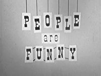 PEOPLE ARE FUNNY のサムネイル画像