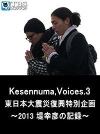 KESENNUMA,VOICES.3 東日本大震災復興特別企画〜2013 堤幸彦の記録〜 のサムネイル画像