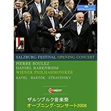 ザルツブルク音楽祭オープニング・コンサート2008(バレンボイム/ブーレーズ/ウィーン・フィル) のサムネイル画像
