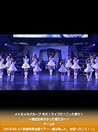 AKB48グループ 冬だ!ライブだ!ごった煮だ!〜遠征出来なかった君たちへ〜 チームE『SKE48 47都道府県全国ツアー〜機は熟した。全国へ行こう!〜』 のサムネイル画像
