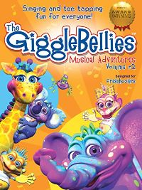 The GiggleBellies Musical Adventures Volume #2 のサムネイル画像