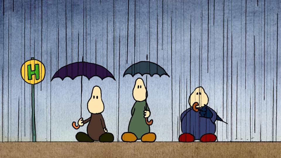 3つの傘 のサムネイル画像