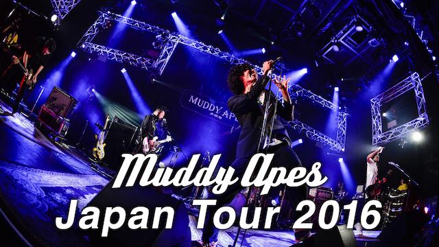 MUDDY APES JAPAN TOUR 2016 のサムネイル画像