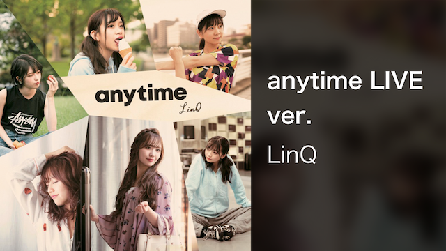 anytime LIVE ver. のサムネイル画像