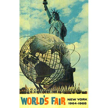1964年 ニューヨーク万博 夜景空撮 のサムネイル画像