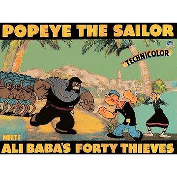 ポパイ対四十人の盗賊 のサムネイル画像