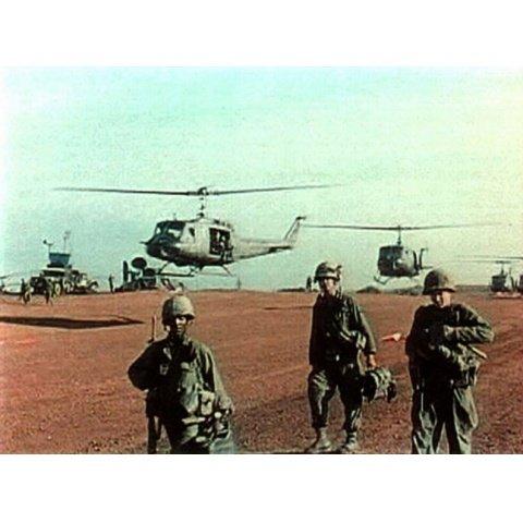ベトナムの第1歩兵師団 ベトナム戦争資料映像 のサムネイル画像