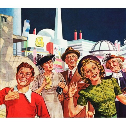 1939年のNY万博へ 資料映像 のサムネイル画像