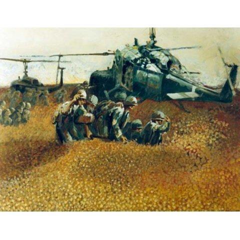 ベトナム戦争と画家 資料映像 のサムネイル画像