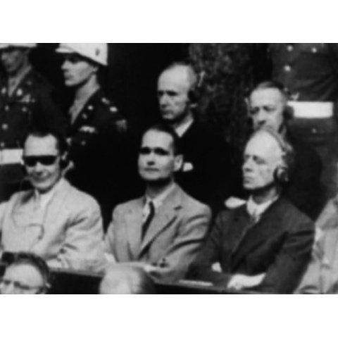 <衝撃の映像・第二次世界大戦> ニュルンベルク裁判 のサムネイル画像