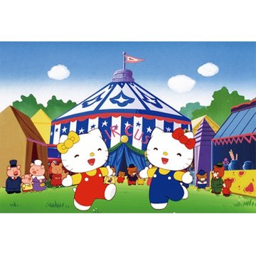 ハローキティのサーカスがやってきた のサムネイル画像