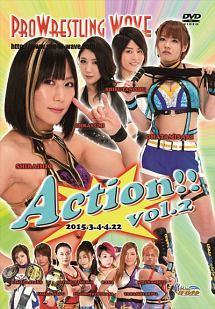 プロレスリングWAVE Action!! vol.2 のサムネイル画像