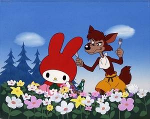 マイメロディの赤ずきん&キキとララの青い鳥・世界名作映画館 のサムネイル画像