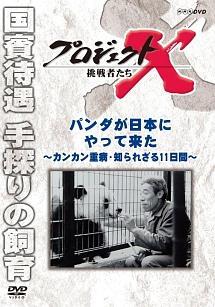 プロジェクトX 挑戦者たち パンダが日本にやって来た ~カンカン重症・知られざる11日間~ のサムネイル画像
