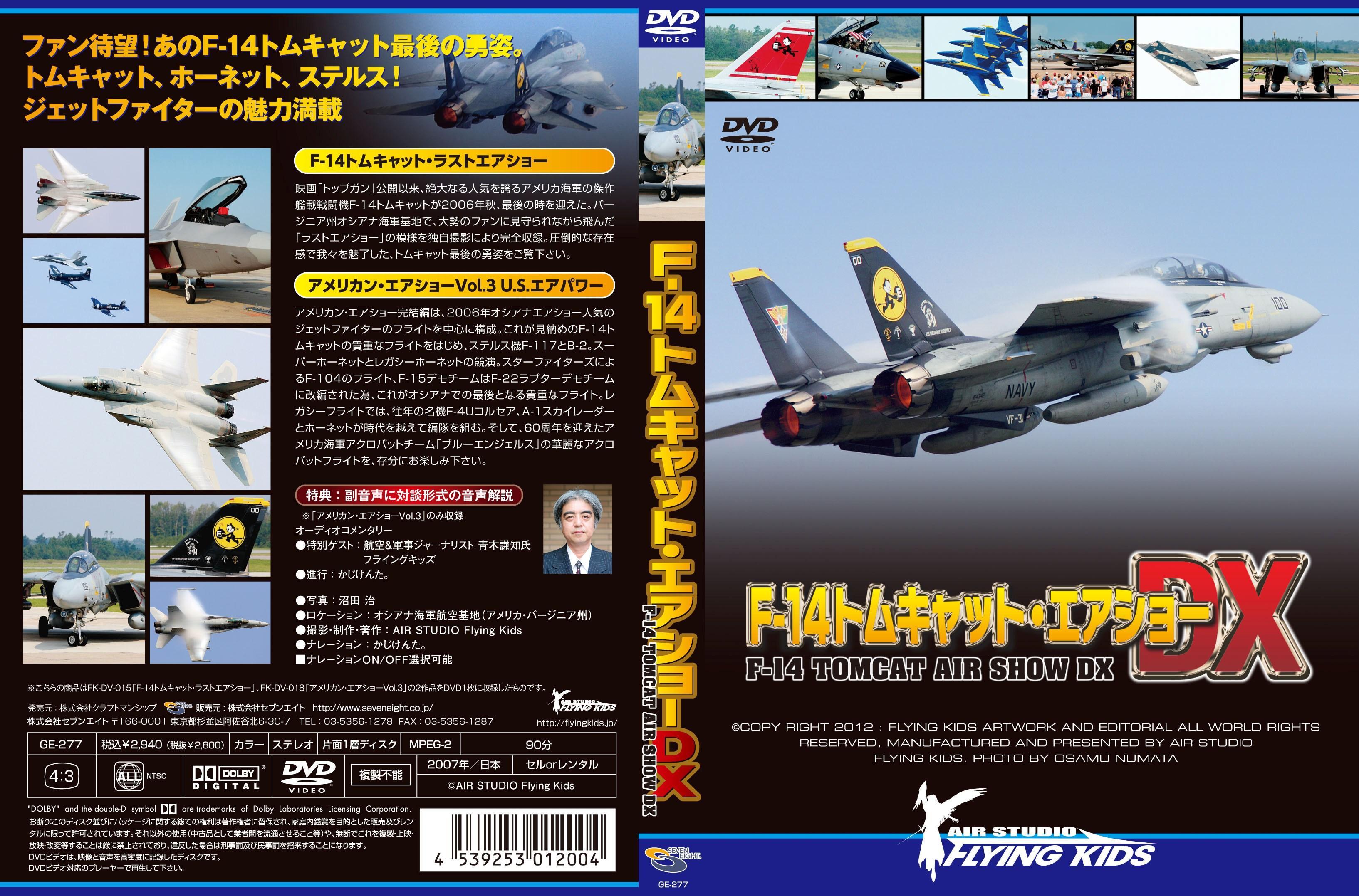 F-14 トムキャット・エアショーDX のサムネイル画像