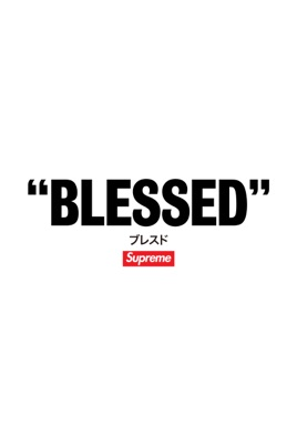 BLESSED - Supreme のサムネイル画像