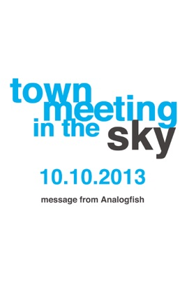 """Analogfish """"town meeting in the sky"""" のサムネイル画像"""