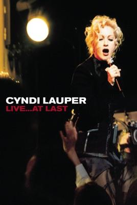 Cyndi Lauper: Live... At Last のサムネイル画像